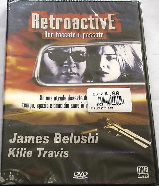 Retroactive Non toccate il passato - James Belushi, Kilie Travis - DVD