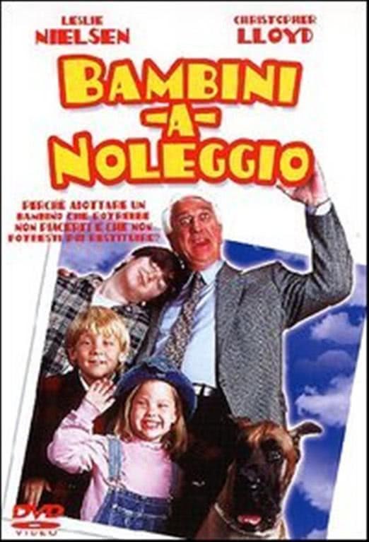 Bambini a noleggio - Leslie Nielsen (DVD)