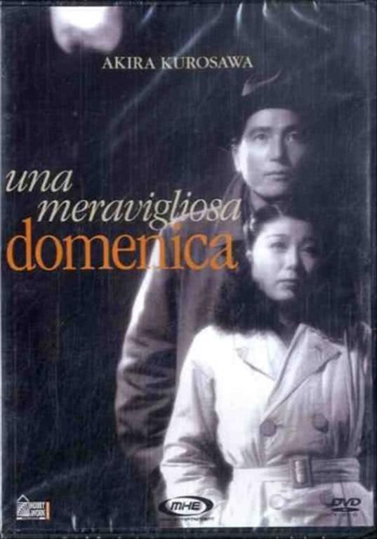 UNA MERAVIGLIOSA DOMENICA DVD FILM SEALED Akira Kurosawa