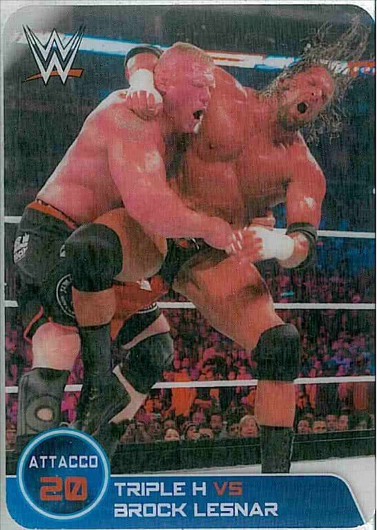 n.155 Combattimento TripleH vs Abrock Lesnar - WWE