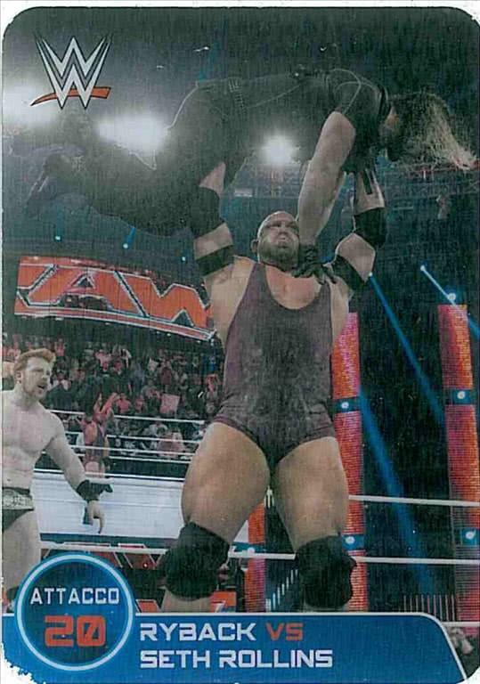 n.154 Combattimento Riback vs Seth Rollins - WWE