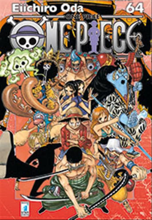 Manga ONE PIECE  n.64 - ed. STAR COMICS - collana GREATEST Uscita 180