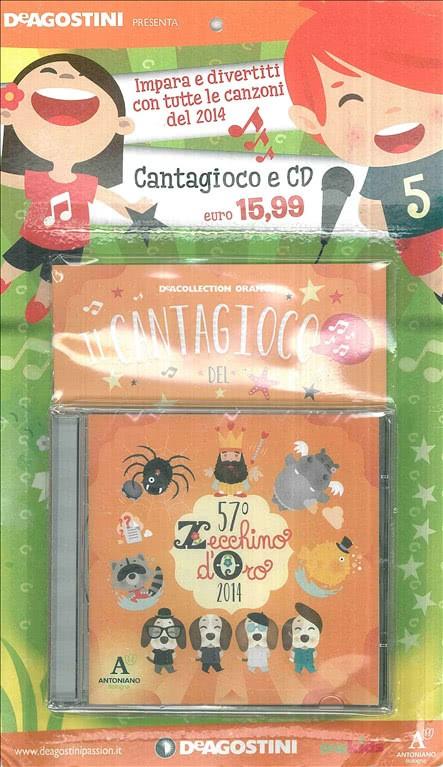 IL CANTAGIOCO del 57° Zecchino D'Oro (2014) - DE AGOSTINI