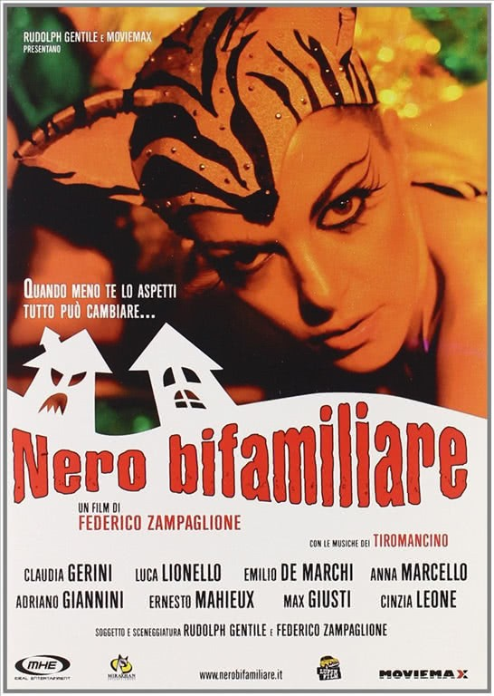 Nero Bifamiliare (DVD Singolo) Claudia Gerini, Luca Lionello, Emilio De Marchi, Anna Marcello, Adriano Giannini