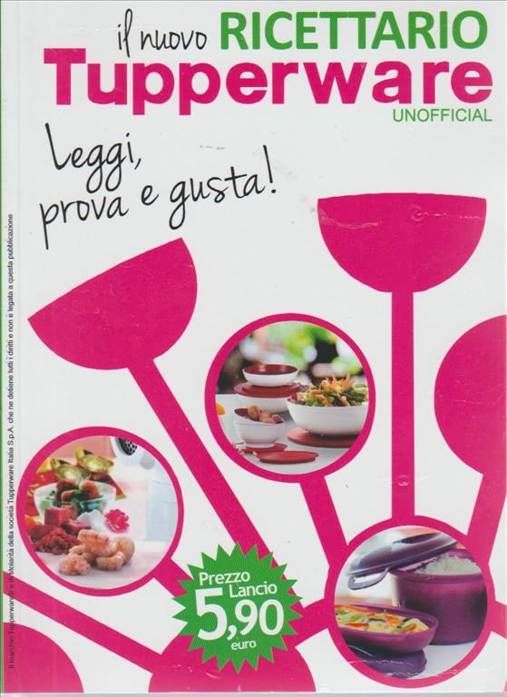 ricettario tupperware