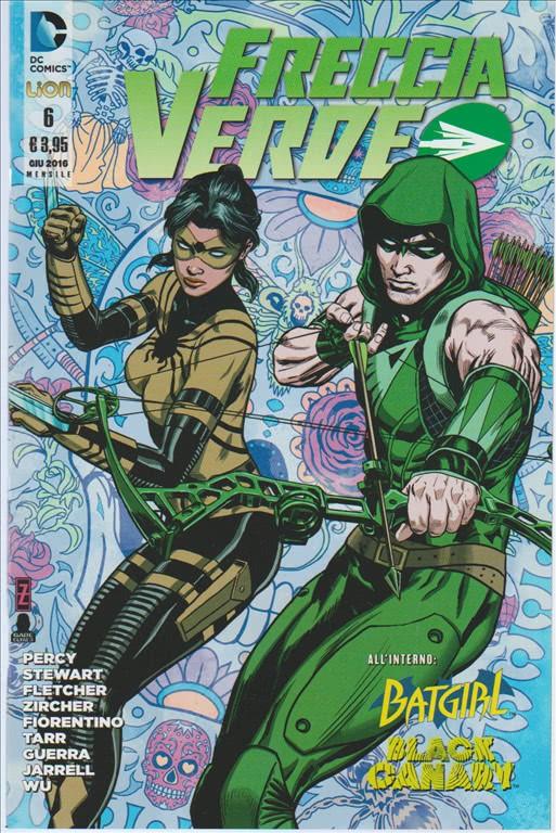 Freccia Verde 06 - DC Comics Lion
