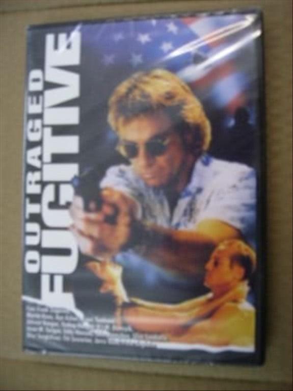 OUTRAGED FUGITIVE - FRANK ZAGARINO, MARTIN KOVE, ROBERT CHAPPELL (DVD)