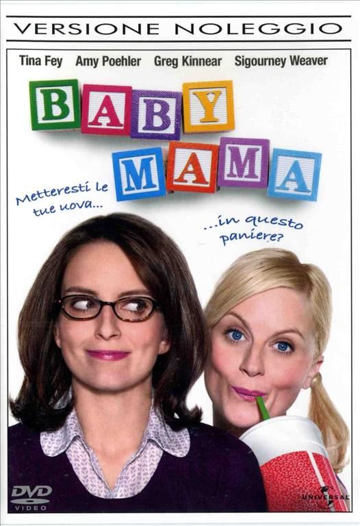 Baby Mama - Amy Poehler, Greg Kinner, Sigourney Weaver Tina Fey (DVD Versione Noleggio)