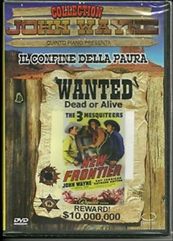 Il confine della paura - John Wayne, Ray Corrigan, Jennifer Jones (DVD)