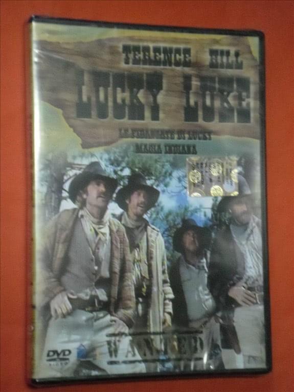 LUCKY LUKE- vol.4- DI:TERENCE HILL- film western dvd - CON 2 FILM- SIGILLATO