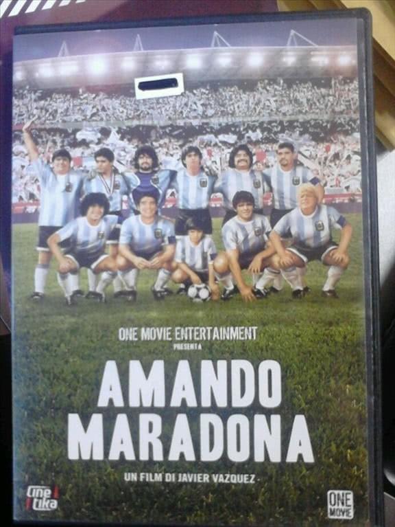 AMANDO MARADONA - Un film di Javier Vazquez (DVD)