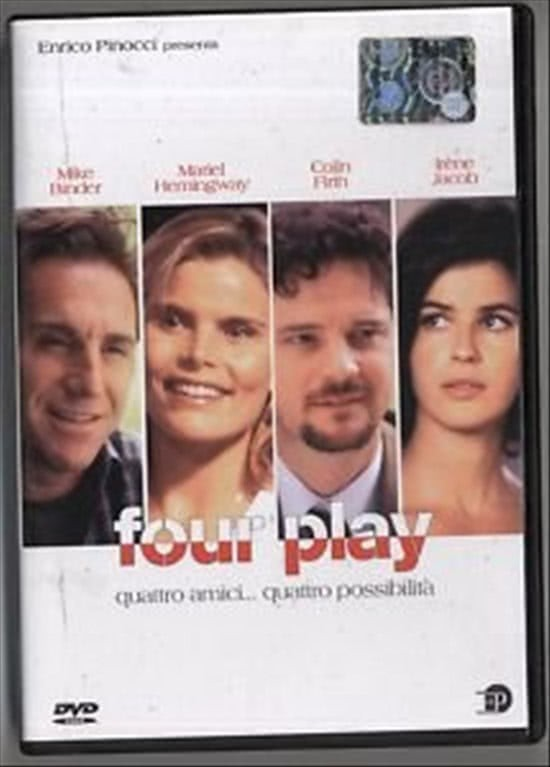 FOUR PLAY QUATTRO AMICI... QUATTRO POSSIBILITA' - MIKE BINDER, MARIEL HEMINGWAY (DVD)