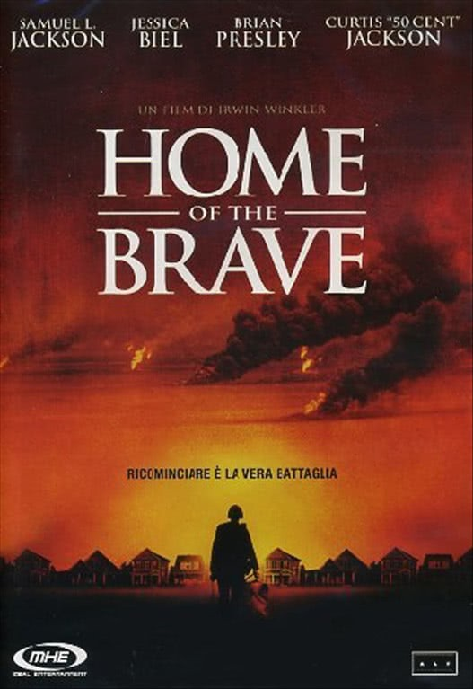 Home Of The Brave - Christina Ricci, Jessica Biel, 50 Cent (DVD)