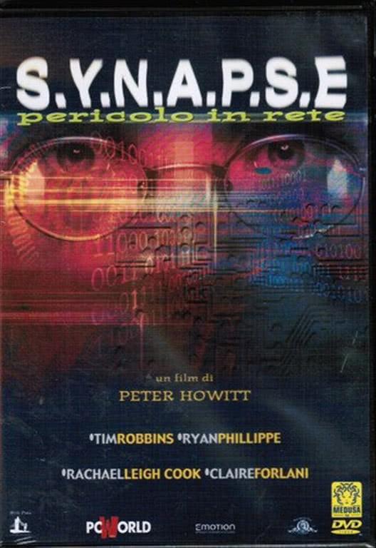 S.Y.N.A.P.S.E - Pericolo in rete - Ryan Phillippe, Rachael Leigh Cook, Claire Forlani (DVD)