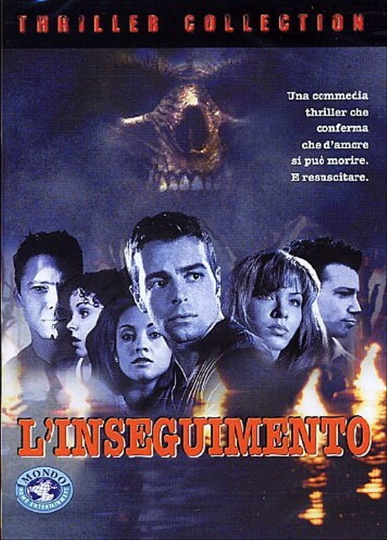 L' Inseguimento -  Joey Lawrence, Dru Mouser, Nathan Anderson (DVD)