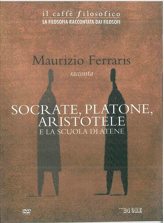 dvd usato MAURIZIO FERRARIS RACCONTA SOCRATE, PLATONE, ARISTOTELE