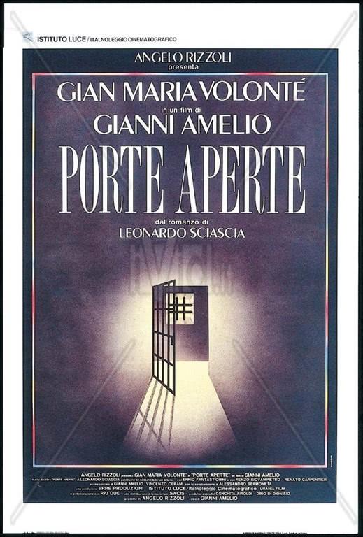 Porte aperte - Film DVD - dal romanzo di Leonardo Sciascia