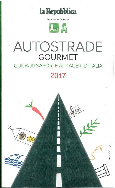 Autostrade Gourmet 2017 by la Repubblica