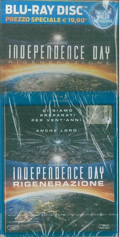 Blu Ray disc - Indipendence Day Rigenerazione un film di Roland Emmerich