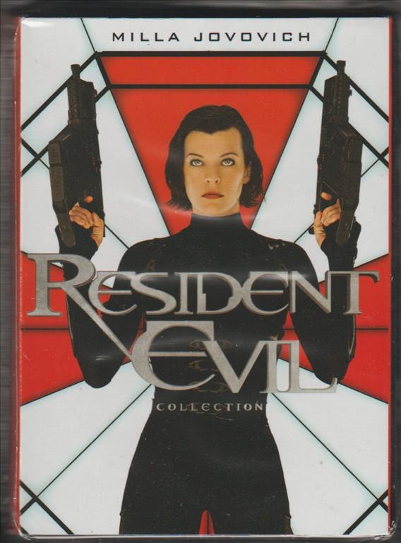 DVD RESIDEVIL EVIL Collection  cofanetto da collezione 5 Film by PANORAMA