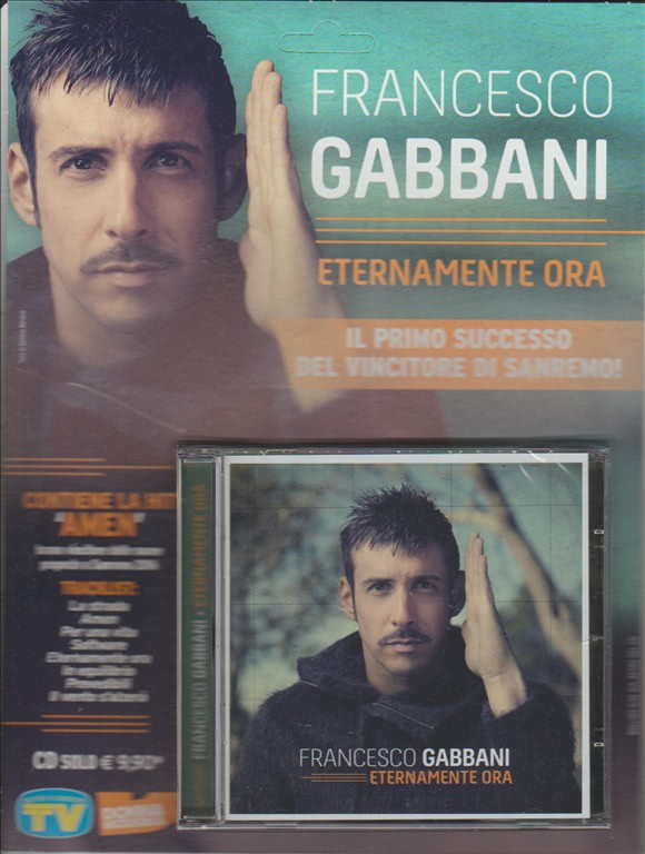CD - Francesco Gabbani - Eternamente ora
