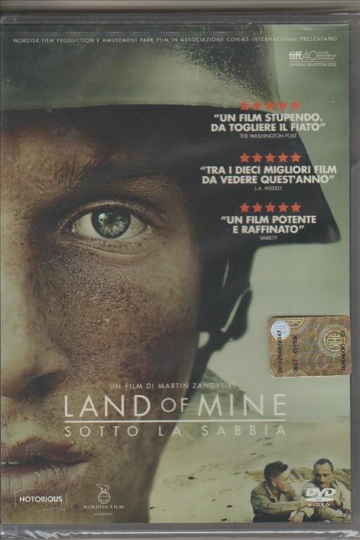 DVD - Land of Mine (Sotto la sabbia) - Regista: Martin Zandvliet