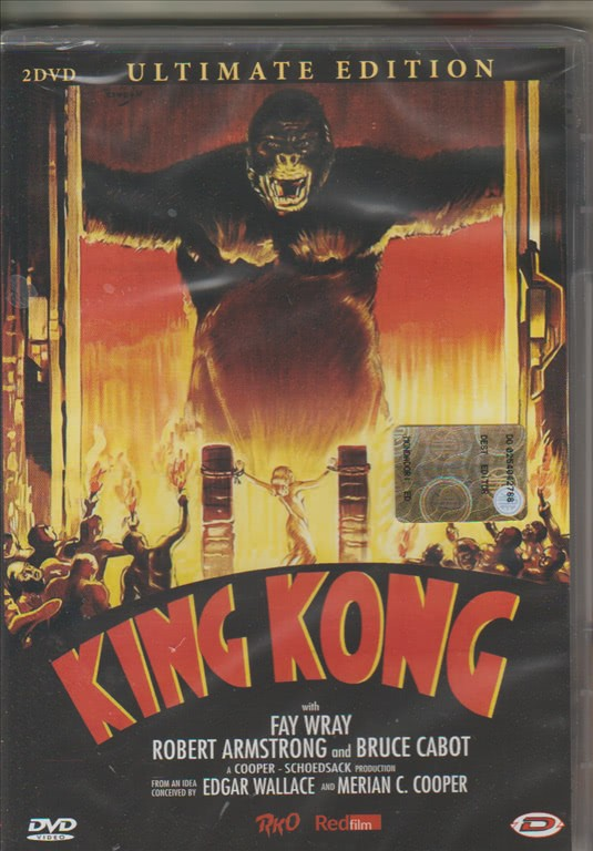 Doppio DVD - King Kong Ultimate edition - Regista: Merian C. Cooper