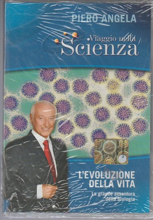 DVD - VIAGGIO NELLA SCIENZA di PIERO ANGELA n.7  L'evoluzione della vita