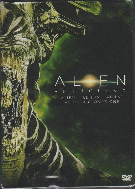 Cofanetto DVD Alien anthology - 4 film