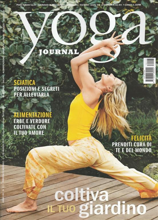 """Yoga Journal - mensile n. 113 Maggio 2017 """"sciatica"""""""