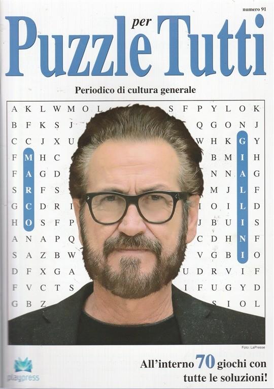 Puzzle per Tutti - bimestrale n. 91 - Giugno 2017