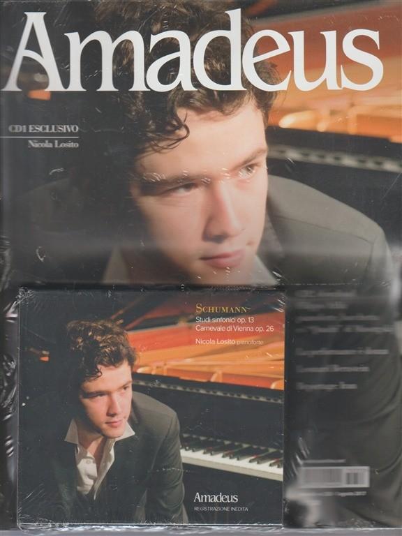 Amadeus - mensile n. 333 Agosto 2017 + 2 CD Nicola Losito e Filippo Arlia