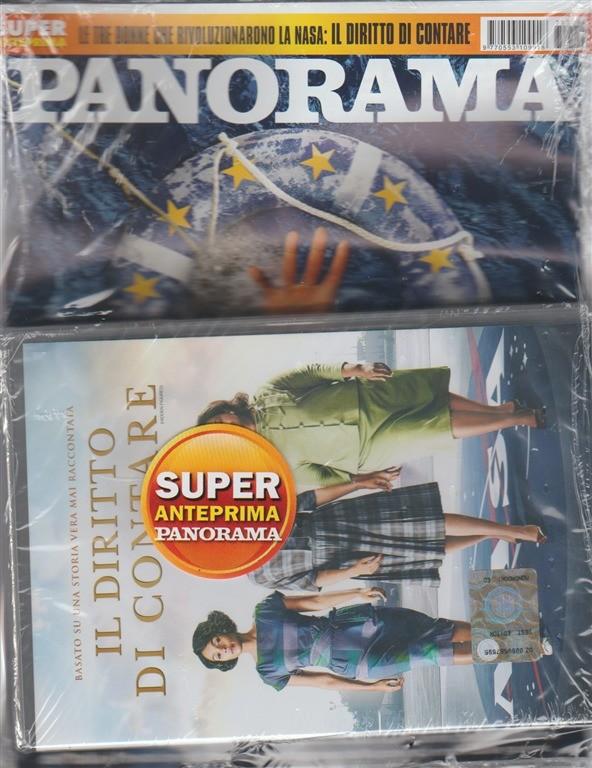 Panorama - settimanale n. 29 (2667) - 6 Luglio 2017 + DVD il diritto di contare