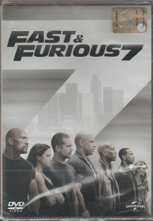 DVD - Fast & Furious 7 - Regista: James Wan