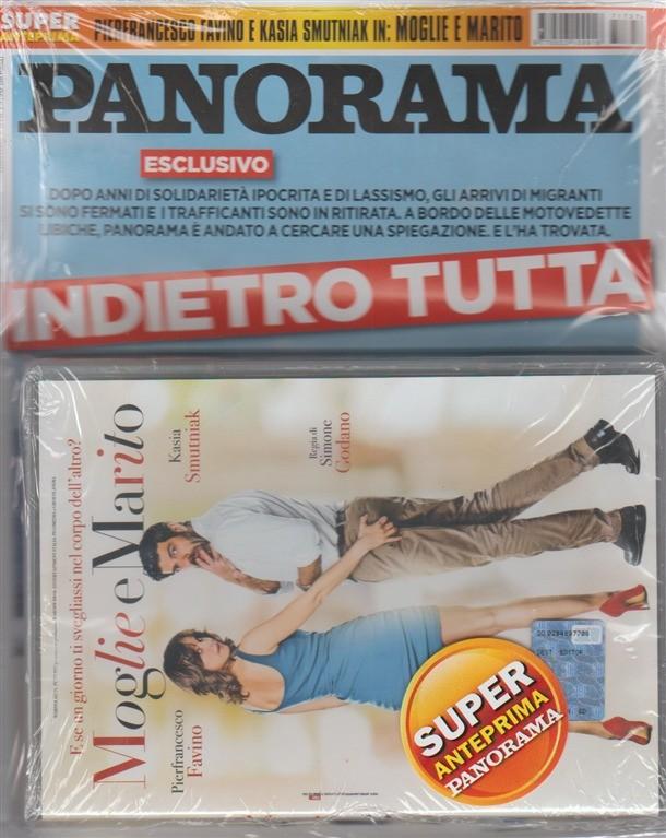 Panorama - settimanale n.37(2675) -31 Agosto 2017+ DVD Moglie e Marito