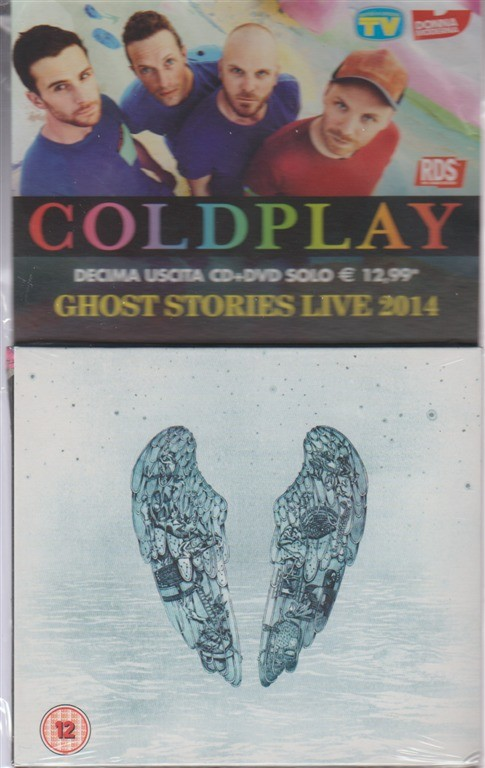 10° uscita CD + DVD Coldplay: Ghost Stories Live 2014