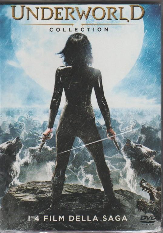 Cofanetto DVD - Underworld Collection: i 4 Film della Saga
