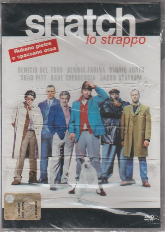"DVD - The Snatch ""lo strappo"" - Regista: Guy Ritchie"