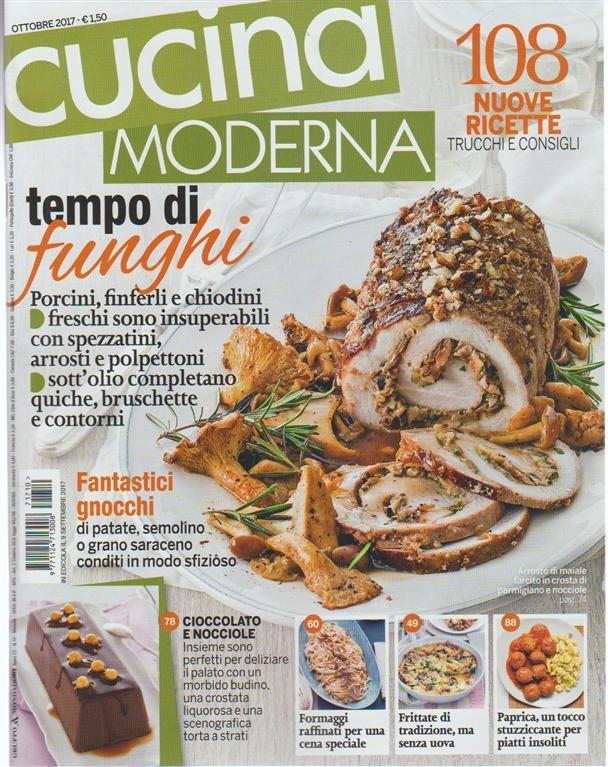 Cucina Moderna Ottobre.Cucina Moderna Mensile N 10 Ottobre 2017 Tempo Di