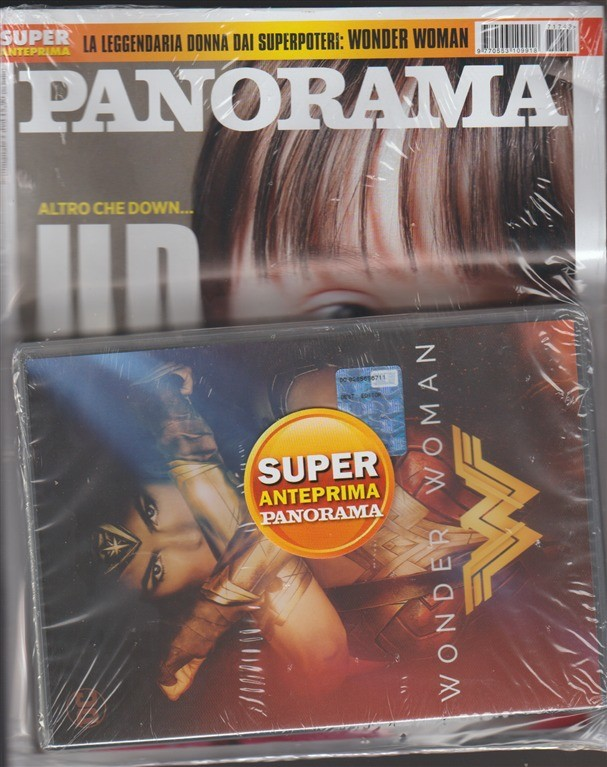 Panorama - settimanale n 43(1681) - 12 ottobre 2017 +  Dvd: Wonder Woman