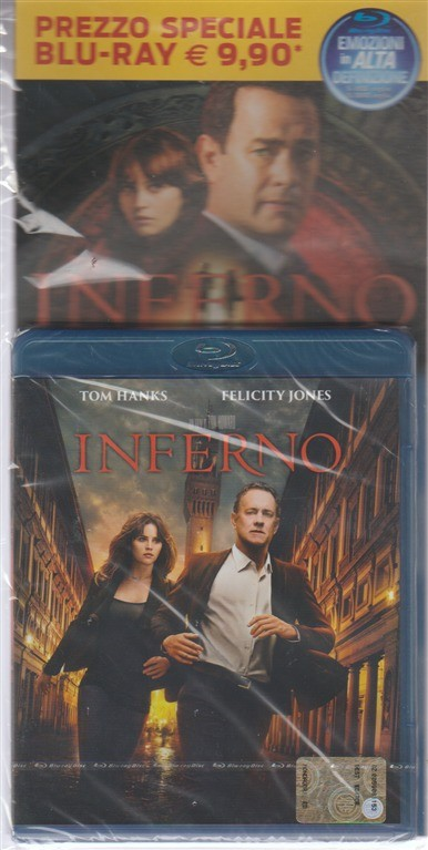 Blu-ray disc - Inferno - regia di Ron Howard