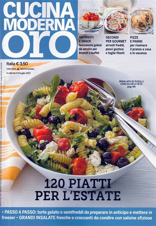 Cucina Moderna Oro.Cucina Moderna Oro Bimestrale N 131 Luglio 2017 Pizze