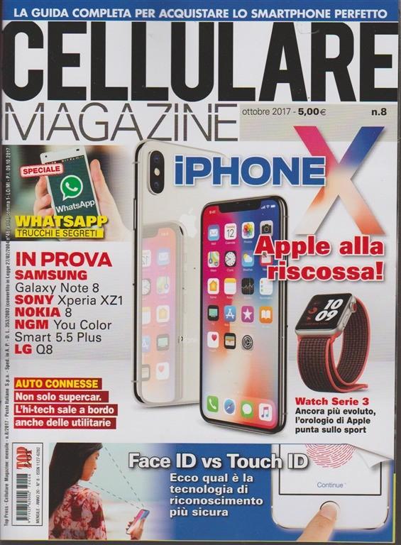 Cellulare Magazine Mensile N 8 Ottobre 2017 Apple Alla Riscossa