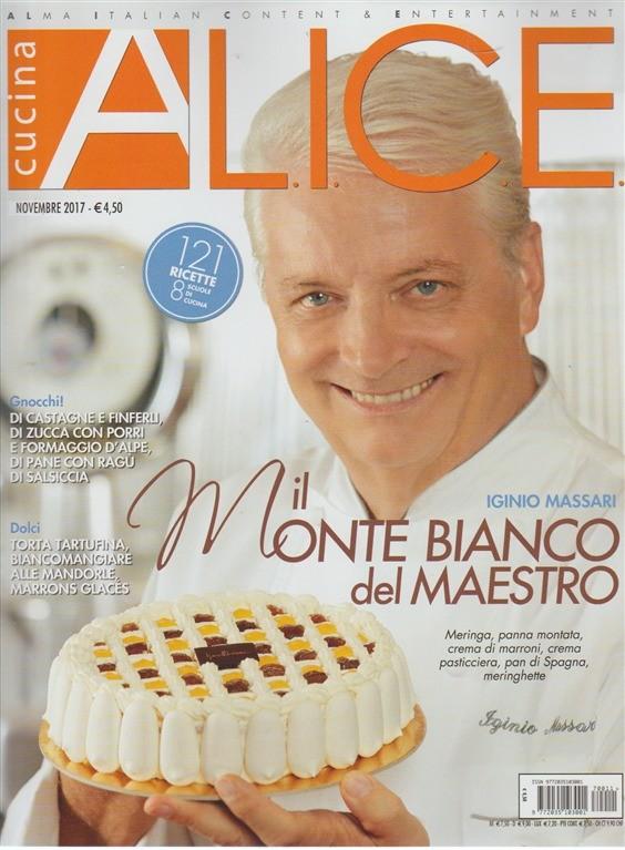 Alice cucina mensile novembre 2017 121 ricette for Alice cucina ricette