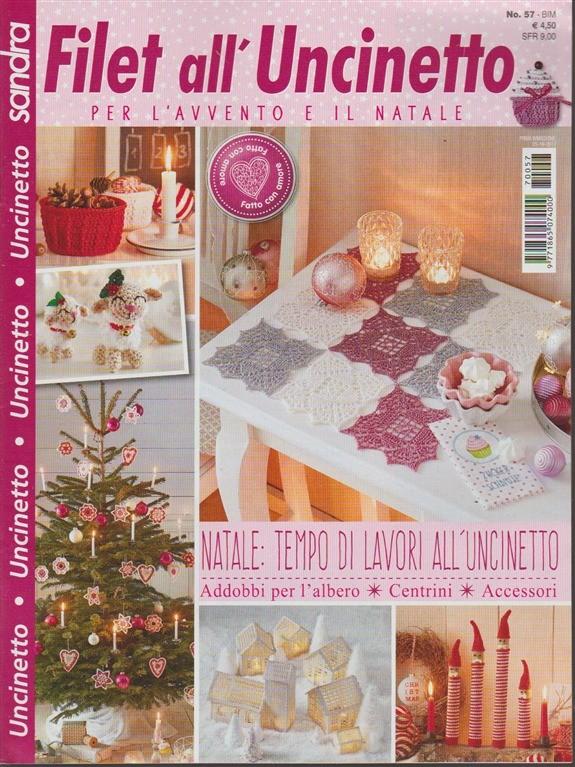 Sandra Filet Alluncinetto Per Lavvento E Il Natale Bimestrale N