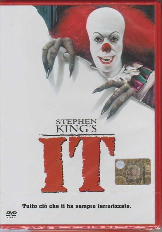 DVD - Stephen King's IT - Tutto ciò che ti ha sempre terrorizzato