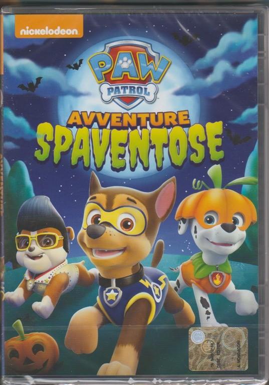 DVD - Paw Patrol: Avventure Spaventose