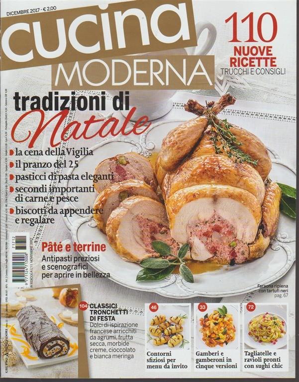 Cucina Moderna - mensile n. 12 Dicembre 2017 - Tradizioni di Natale