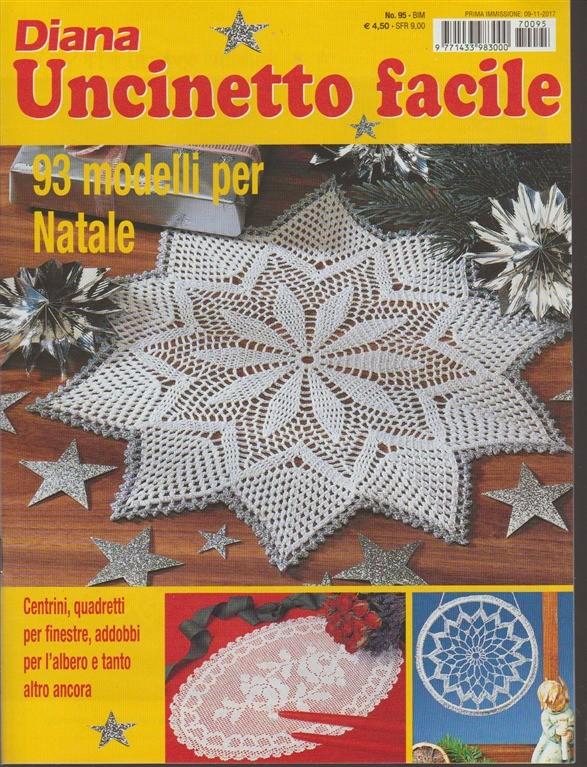 Uncinetto Facile Edicola.Diana Uncinetto Facile Bimestrale N 95 Novembre 2017 Edicola Shop