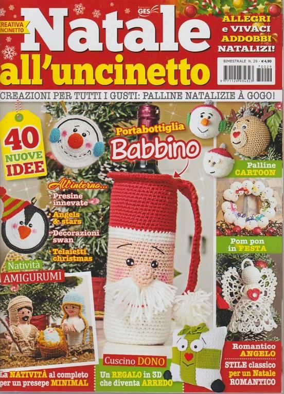 Creativa Uncinetto Bimestrale N 29 Novembre 2017 Natale All